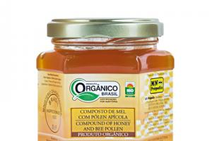 Organic Compound of Honey with Pollen 200g - MN Própolis