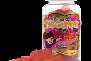 Mr. Gummy Vitamins | Private / White Label Supplements | KIDS SUGAR FREE FIBER SLICES (APPLE) 30 CT