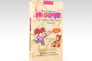 Mr. Gummy Vitamins | Private / White Label Supplements | Probiotic White Chocolate 20 ct.