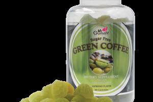 Mr. Gummy Vitamins   Private / White Label Supplements   SUGAR FREE GREEN COFFEE (ESPRESSO) 50 CT