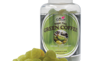 Mr. Gummy Vitamins | Private / White Label Supplements | SUGAR FREE GREEN COFFEE (ESPRESSO) 50 CT
