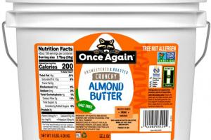 Once Again Nut Butter - Once Again Natural Crunchy Almond Butter 9 lb