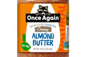 Once Again Nut Butter - Once Again Natural Creamy Almond Butter 16 oz