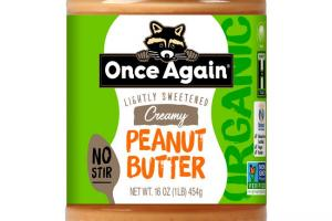 Once Again Nut Butter - Once Again Organic American Classic Creamy Peanut Butter 16 oz