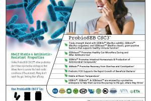 ProbioSEB CSC3 a shelf-stable probiotic blend of three spore-forming Bacilli