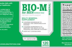 Uckele Health & Nutrition Bio-M for Men