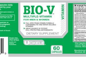 Uckele Health & Nutrition Bio-V