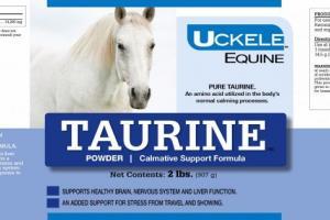 Uckele Health & Nutrition Taurine 2lb