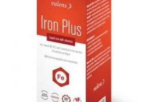 Valens Iron Plus liquid - Valens - Coenzyme Q10, Collagen, Vitamins, Fertility and other dietary supplements.