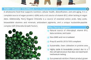 Parry Organic Chlorella – Valensa
