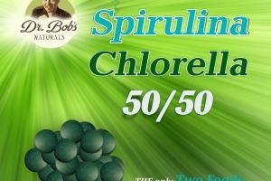 50/50 Chlorella Spirulina