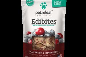 CBD Treats for Large Dogs - Blueberry/Cranberry | Elixinol