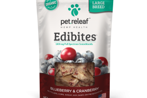 CBD Treats for Large Dogs - Blueberry/Cranberry | Elixinol