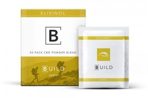 CBD Powder 30 Pack - 10mg Citrus Flavor - Elixinol