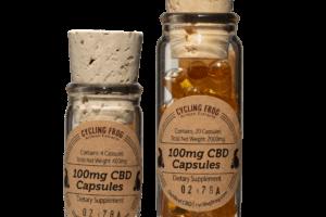 CBD Liquid Capsules 100mg | Gluten Free | Lazarus Naturals