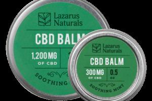 Soothing Mint CBD Balm | CBD Balm | Lazarus Naturals