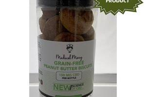 Grain-Free Peanut Butter Biscuits - Pet Treats – Medical Mary LLC