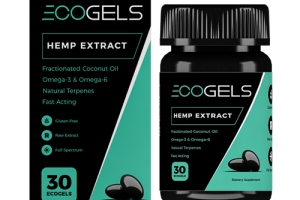 ECOGELS Bottle | 30 pills with a total of 750mg of CBD | EcoSciences | Eco Sciences