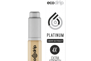 The ECODRIP Platinum Bottle | 7 ml with a Total of 58 mg of CBD | EcoSciences | Eco Sciences