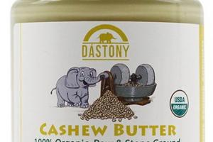 Stone Ground Organic Raw Cashew Butter - 8 oz