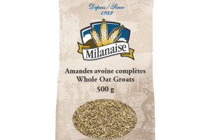 Organic Whole Oat Groats – La Milanaise