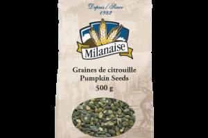 Organic Pumpkin Seeds – La Milanaise