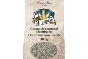 Organic Hulled Sunflower Seeds – La Milanaise