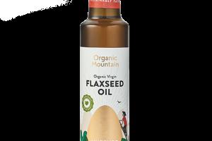 Organic Flaxseed Oil - Organic Mountain