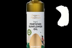 Organic Fortified Sunflower Oil - Organic Mountain