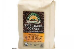 Organic French Roast Coffee | Tierra Farm