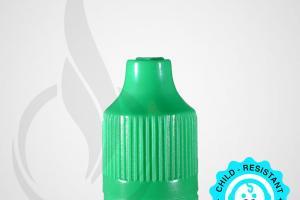 Green CRC Tamper Evident Bottle Cap with Tip - Liquid Bottles LLC
