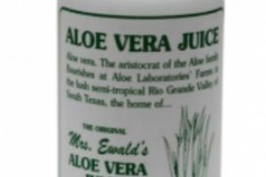 Mrs. Ewald's Aloe Vera Juice