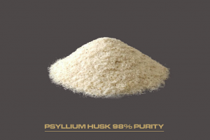 PSYLLIUM HUSK AND POWDER 98%- Organic and Traditional
