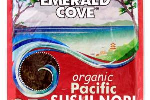 Emerald Cove Organic Pacific Toasted Sushi Nori - Great Eastern Sun