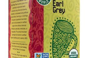 One World Organic Earl Grey Tea - Great Eastern Sun
