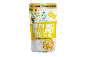 Iya Foods One-Pot Riced Cauliflower Seasoning, no Preservatives, No Added Color, No Additives, No MSG