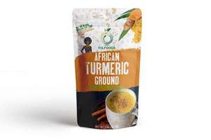Iya Foods Turmeric Ground 2 ounces, Kosher Certified, No Preservatives, No Added Color, No Additives, No MSG
