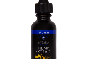 Broad Spectrum Hemp Extract 250/500 mg Lemon
