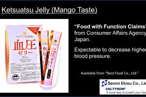 Ketsuatsu Jelly, Original End Product including VALTYRON®