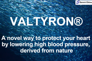 VALTYRON® - A novel way to protect your heart by lowering high blood pressure, derived from nature