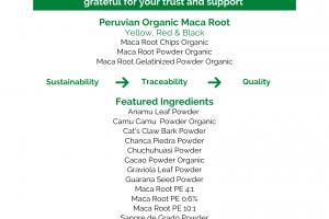 Maca Root Organic
