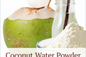 Coconut Water Powder (organic) - Nutra Organics