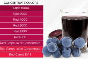 Pure, Natural, Fruit & Vegetable Concentrate Juice