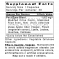 Premier Research Labs Chem Detox Supplement Facts Panel