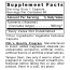 Premier Research Labs Turmeric Supplement Facts Panel